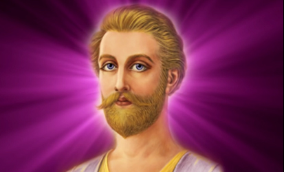 Saint Germain and violet fire decrees