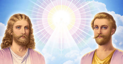 Ascended Masters Jesus and Saint Germain Image