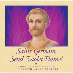 Saint Germain Send Violet Flame - CD